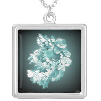 Mother Nature Square Necklace by Gahr Graphics