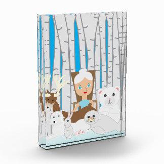 Mother Nature Winter Scene Award