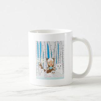 Mother Nature Winter Scene Coffee Mug