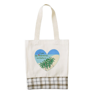 Mother Nature Zazzle HEART Tote Bag
