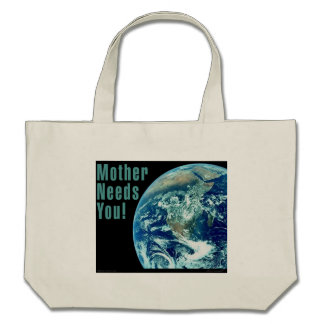 Mother Needs You L.I.F.E Tote Bag