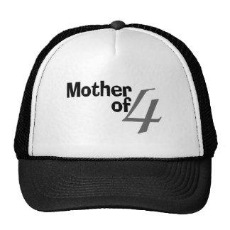 Mother Of 4 Trucker Hats