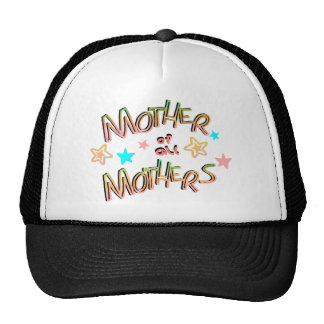 Mother Of All Mothers With Stars, Multi-Color Trucker Hat