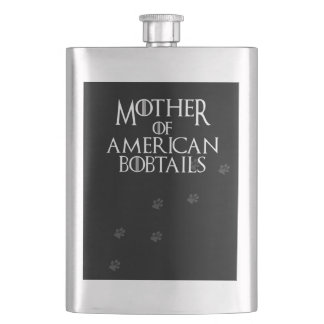 Mother of American Bobtails, #American Bobtails Flask