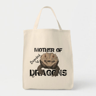 """Mother of Bearded Dragons"" Tote"
