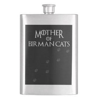 Mother of Birman cats, #Birman cats Flask