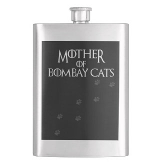 Mother of Bombay Cats, #Bombay Cats Flask