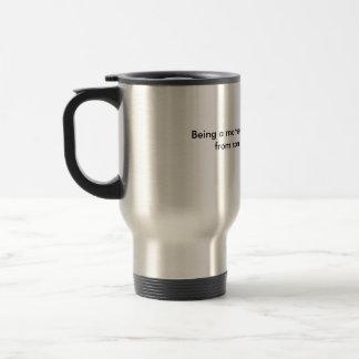 Mother of Boys 15 Oz Stainless Steel Travel Mug