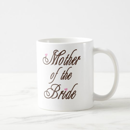 Mother of Bride Classy Browns Coffee Mug
