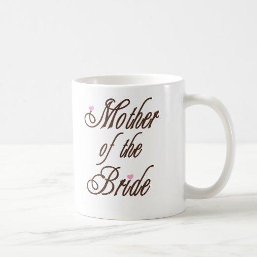 Mother of Bride Classy Browns Coffee Mug