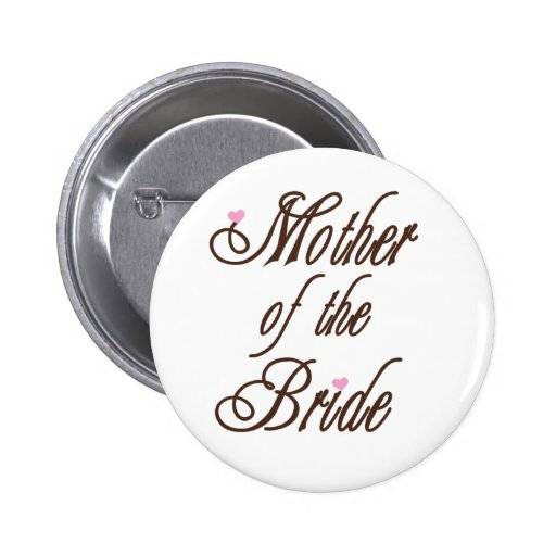 Mother of Bride Classy Browns Pin