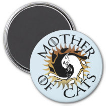 Mother Of Cats Magnet