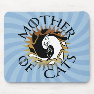 Mother Of Cats Mouse Pad