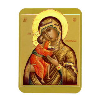 Mother of God Feodorovskaya--Icon Magnet