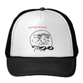 Mother of God Mesh Hat