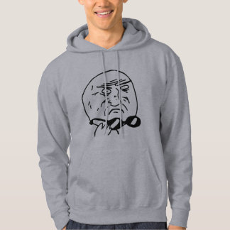 Mother of God Rage Face Comic Meme Hoodie