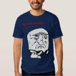 Mother of God Rage Face Comic Meme T-Shirt
