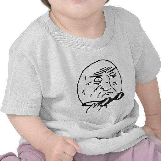 Mother of God Rage Face Comic Meme Tee Shirts