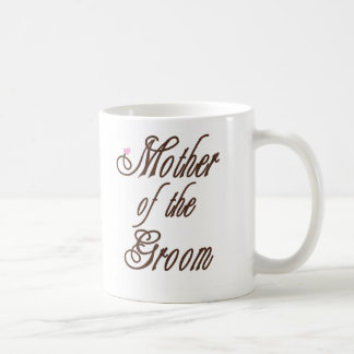 Mother of Groom Classy Browns Classic White Coffee Mug