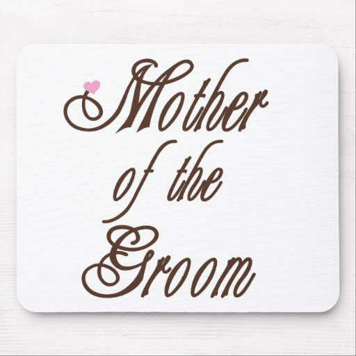 Mother of Groom Classy Browns Mouse Pad