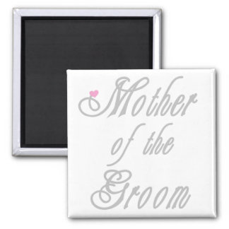 Mother of Groom Classy Grays Magnet