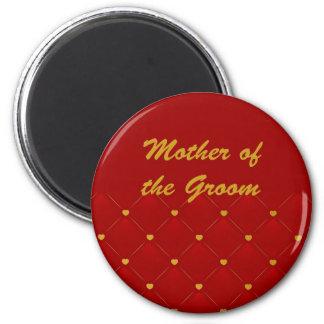 Mother Of Groom (r/g) Fridge Magnets
