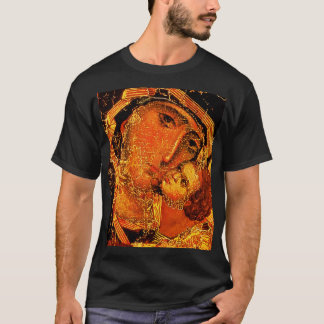 Mother of Love- Mary and Jesus Child - T-Shirt
