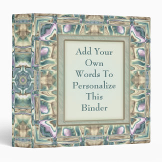Mother of Pearl Binder