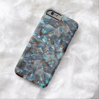 Mother Of Pearl Blue Barely There iPhone 6 Case