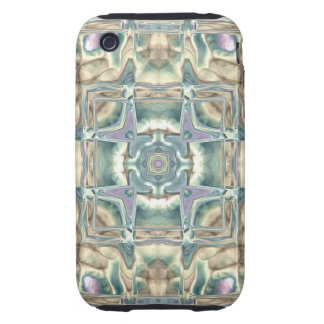 Mother of Pearl Tough iPhone 3 Case