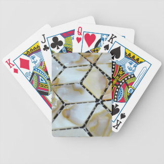 Mother of Pearl Design Bicycle Playing Cards