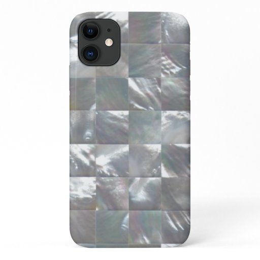 Mother of Pearl Design iPhone 11 Case