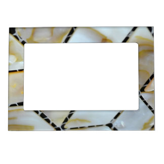 Mother of Pearl Design Magnetic Photo Frame