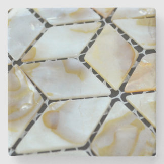 Mother of Pearl Design Stone Coaster