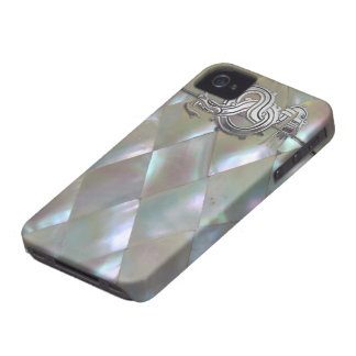mother of pearl dragon iPhone 4 cases