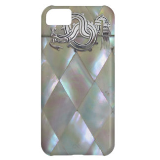 mother of pearl dragon cover for iPhone 5C