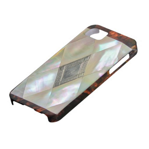 mother of pearl  i-phone iPhone 5 cases