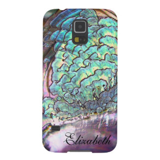 Mother-of-pearl Jewel Iridescent Personalized Galaxy S5 Cover