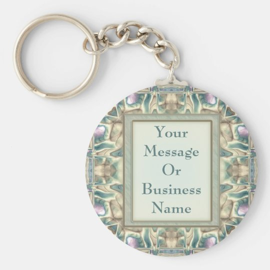 Mother of Pearl Keychain