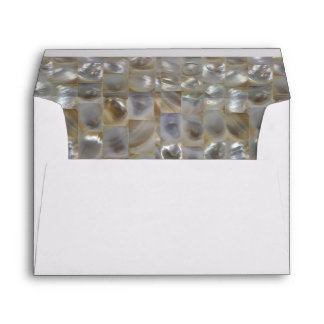 Mother of Pearl Lined Envelope