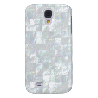 Mother Of Pearl Mosaic Samsung Galaxy S4 Covers