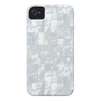 Mother Of Pearl Mosaic iPhone 4 Cases