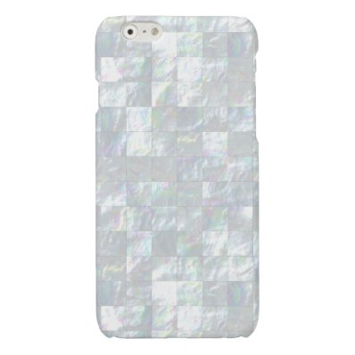 Mother Of Pearl Mosaic Glossy iPhone 6 Case