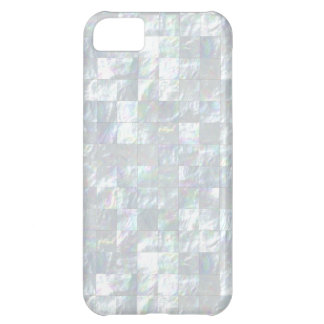 Mother Of Pearl Mosaic iPhone 5C Cover