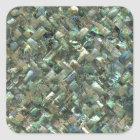 Mother of Pearl Mosaic Jade Green Marble Tile Oil Square Sticker