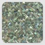 Mother of Pearl Mosaic Jade Green Marble Tile Oil Square Stickers