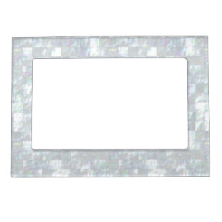 Mother Of Pearl Mosaic Magnetic Photo Frame