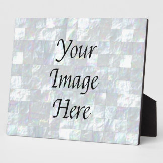Mother Of Pearl Mosaic Plaque