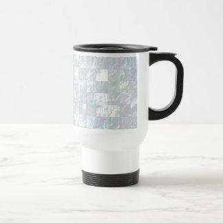 Mother Of Pearl Mosaic Travel Mug