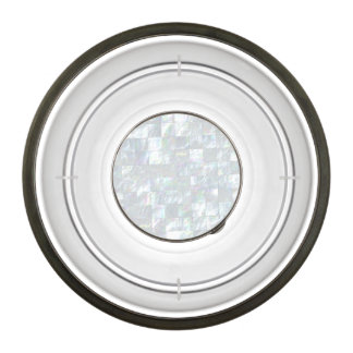 Mother Of Pearl Mosaic Pet Bowl
